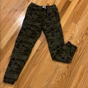OLD NAVY Boys Camouflage Joggers - lightly worn